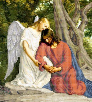 Наборы для вышивания бисером ангелы.