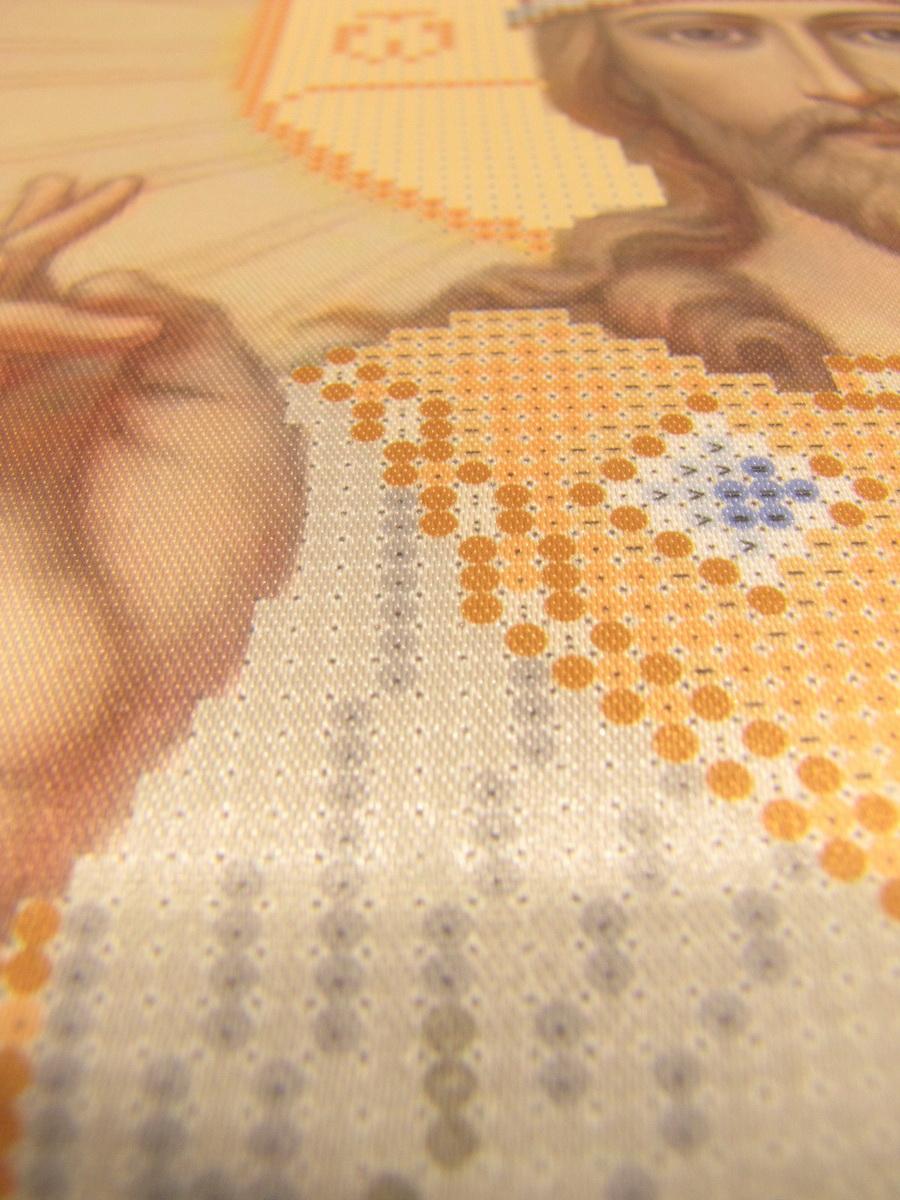 Набор для вышивания бисером, Икона «Спас Вседержитель» СМИ-007Н
