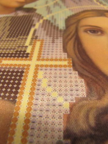 """Набор для вышивания бисером, Икона """"Вера, Надежда, Любовь и мать их София"""" СМИ-014Н"""
