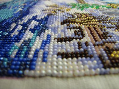 Схемы вышиваем бисером.