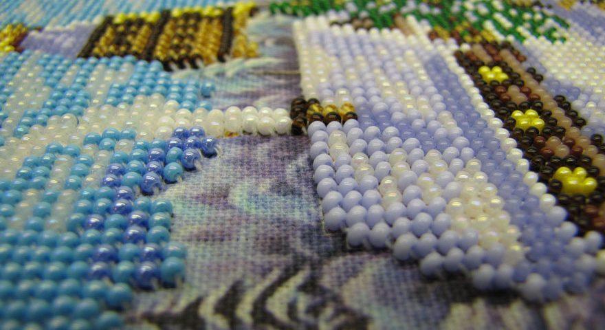 вышивка бисером схемы без бисера