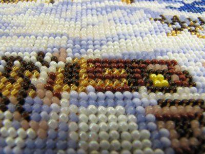 Наборы для вышивания бисером с полной зашивкой.